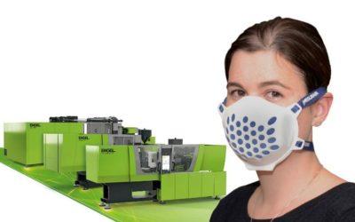 Covid-19. Producción de máscaras en tiempo récord.